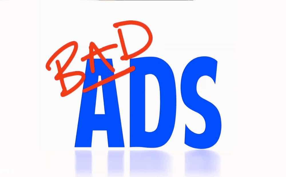 Bad Ads on Google