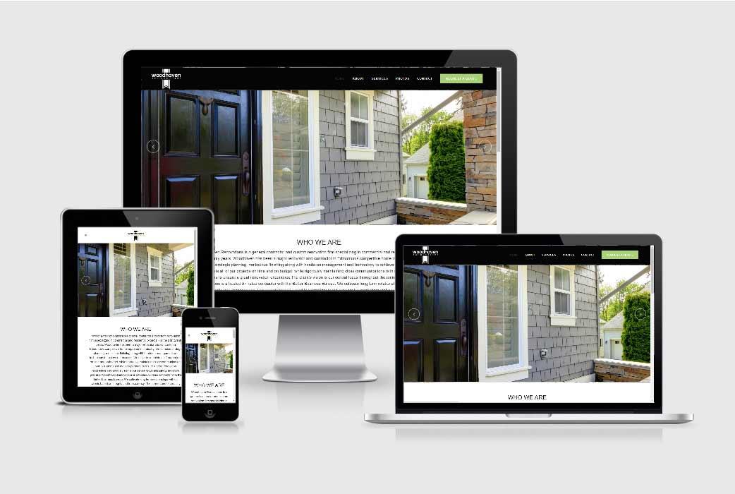 Woodhaven Renovations Website